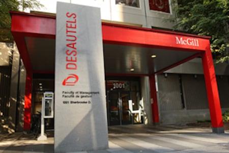 Desautels Faculty of Management, McGill University