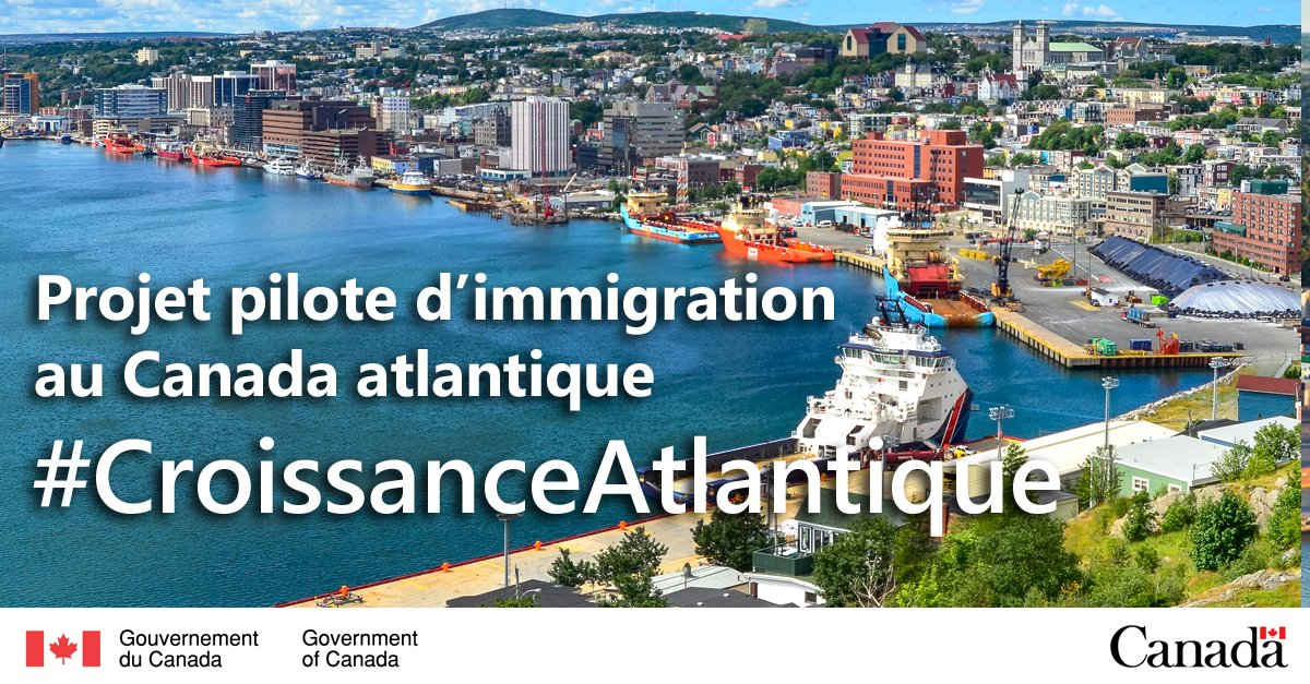 Photo of Nouveau Projet Pilote d'immigration au Canada Atlantique